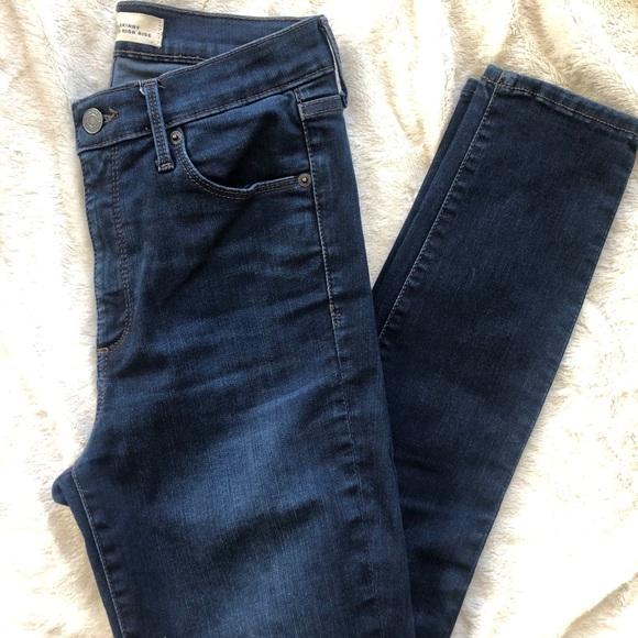 GAP Denim - Super High Rise True Skinny Jeans